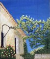 """Cortijo"" Painting Acrilic on canvas © 2008 Painter Giselle Lebrun"